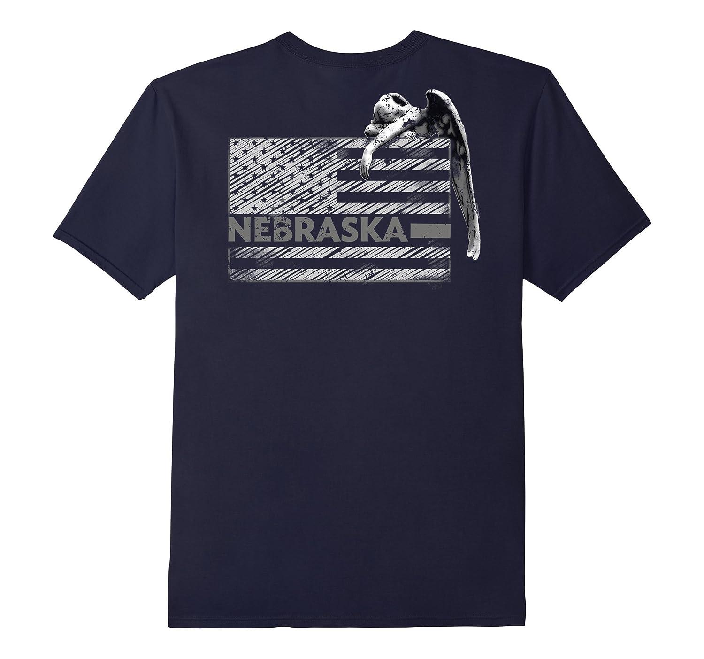 Nebraska Prison Guard Shirt Angel Weeping Shirt-TH