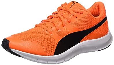 492b9da08b5d Puma Flexracer, Sneakers Basses Mixte Adulte, (Shocking Orange-Black), 36EU