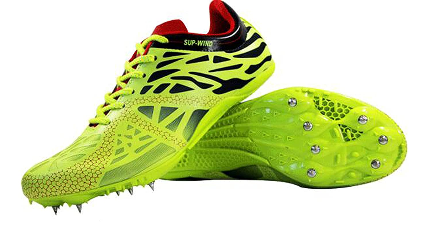 Road Trail Track Running Spike Shoes Women Men Student Trainning Sport Shoes Flats