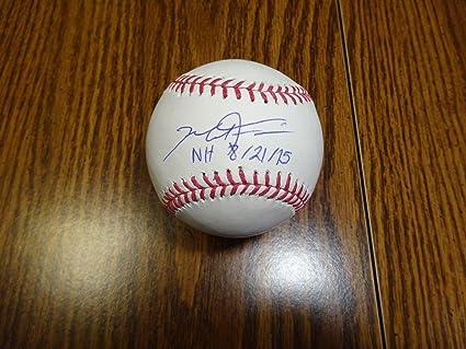 Austin Jackson Autographed Major League Baseball Oml Auto Sports Mem, Cards & Fan Shop