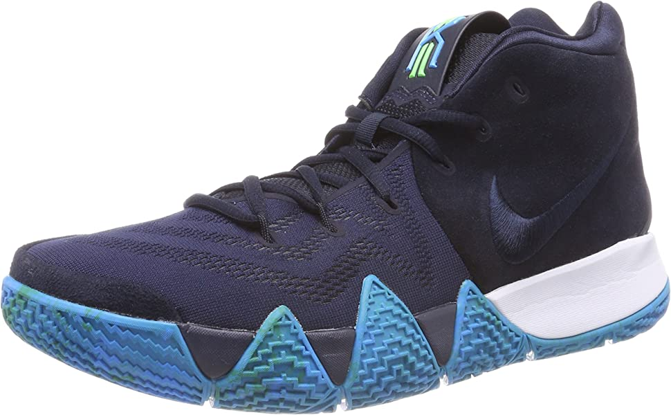 41782242a5e4 Nike Men s Kyrie 4 Dark Obsidian Black Basketball Shoe 11 Men US