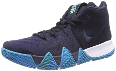 pretty nice aaf19 278bc Nike Men's Kyrie 4 Basketball Shoes (13, Dark Obsidian/Black)