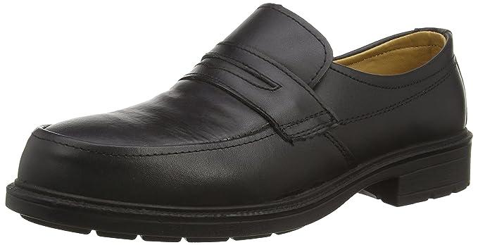557ba20c43b Amblers Steel FS46 Mens Slip On Safety Work Shoes Black