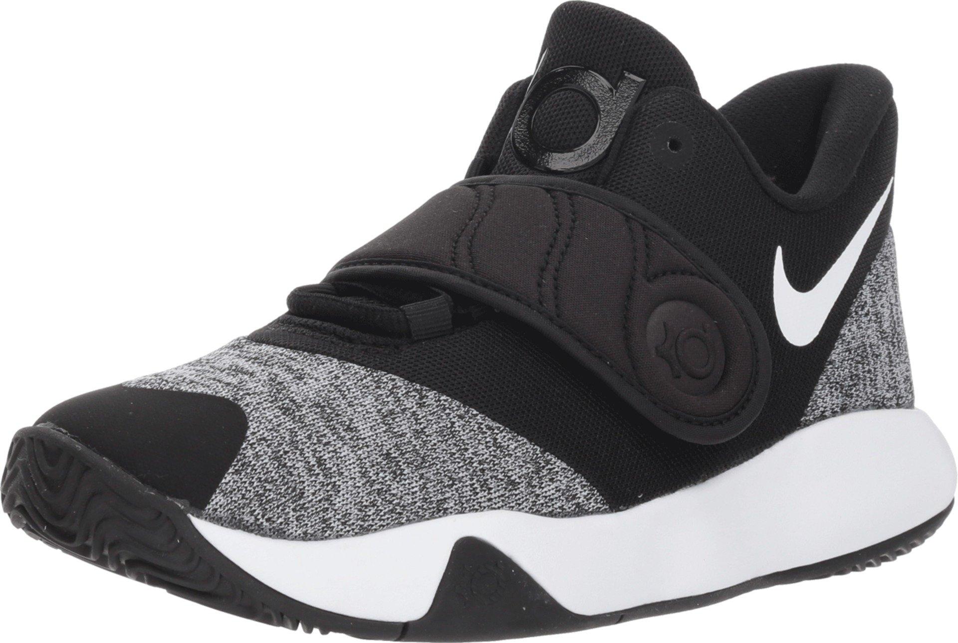 Nike Boy's KD Trey 5 VI Basketball Shoe Black/White Size 6 M US
