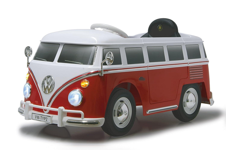 Jamara VW T1 Alimentado con batería Coche - Juguetes de Montar (700 mAh, 12 V, 540 mm, 1070 mm, 550 mm, 16,7 kg)