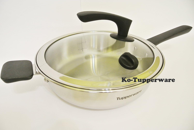 Tupperware Chef Inspire freidora + funda de 26 cm 3.7L eléctrico Gas ...