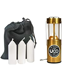 UCO Original Candle Lantern Value Pack with 3 Candles and Storage Bag