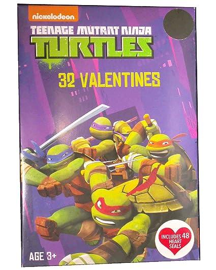 Amazon.com : Teenage Mutant Ninja Turtles 32 Count Showcase ...