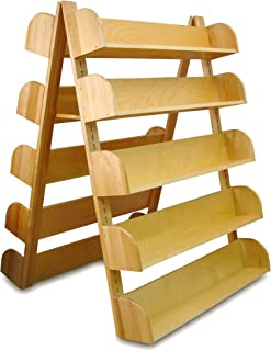 product image for Catskill Craftsmen A-Frame Rack with 10 Adjustable Shelves.