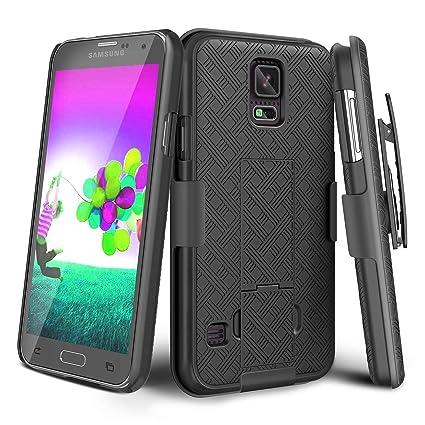 Amazon.com: Samsung Galaxy S5 Carcasa/Holster Combo con ...