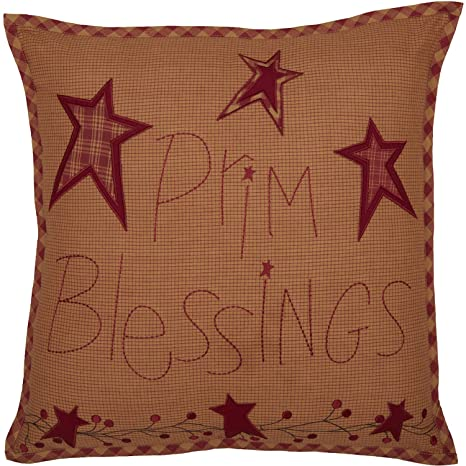 Amazon.com: VHC Brands Ninepatch Star Prim Blessings Texto ...