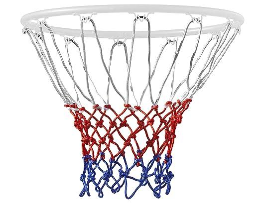 15 opinioni per TRIXES Rete per canestro da basket 12 anelli Nylon Rosso/Bianco/Blu