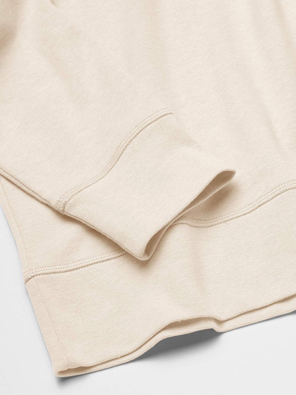 Essentials Sweat /À Manches Longues L/éger French Terry /À Col Rond Athletic-Sweatshirts Homme
