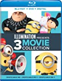 Illumination Presents: 3-Movie Collection (Despicable Me / Despicable Me 2 / Despicable Me 3) [Blu-ray]