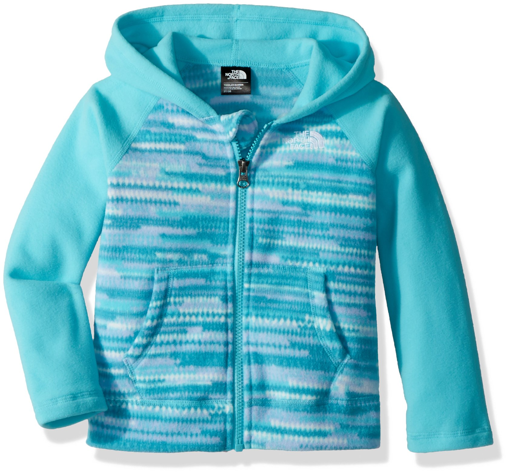 The North Face Todd Glacier Full Zip Hoodie - Blue Curacao - 3T