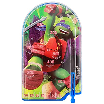 Amazon.com: Mini Teenage Mutant Ninja Turtle Pinball Juguete ...