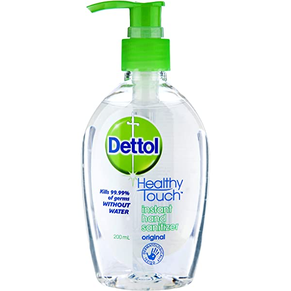 Dettol Healthy Touch Instant Liquid Hand Sanitizer Chamomile Anti