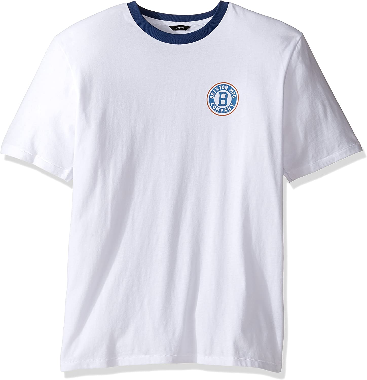 Brixton Camisa Louisville SS Prem White - S: Amazon.es: Ropa y accesorios