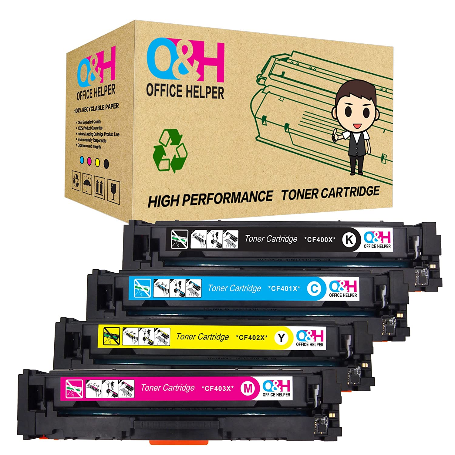 1-24x CF283A Toner Cartridge For HP 83A LaserJet Pro MFP M125a M125nw M225dn Lot