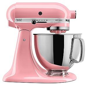 KitchenAid KSM150PSGU Artisan Series 5-Qt. Tilt-Head Stand Mixer 14.3 x 9.3 x 14 Guava Glaze