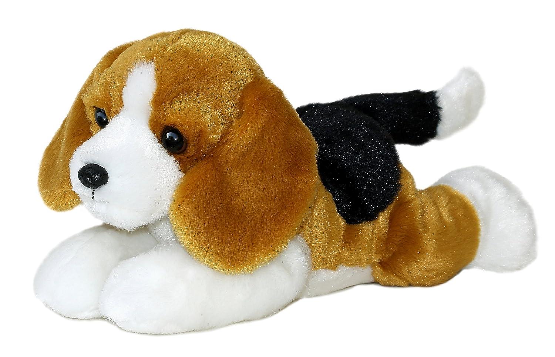amazoncom buddy bean filled beagle flopsie  by aurora toys  - amazoncom buddy bean filled beagle flopsie  by aurora toys  games