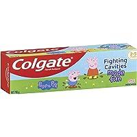 Colgate Kids Peppa Pig Toothpaste 2-5 Years Mild Mint Gel Sugar Free Fluoride Children's Tooth Paste 90g