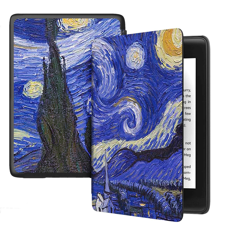 ELTD Case for All-new Kindle 10th Generation 2019 Release,Auto Wake//Sleep Flip Premium Slim light Shell Protective Cover Case for All-new Kindle 6 2019 Black