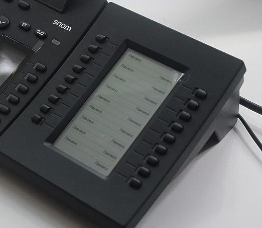 Snom D3 Erweiterungsmodul Für D3xx Telefone Hoch Elektronik