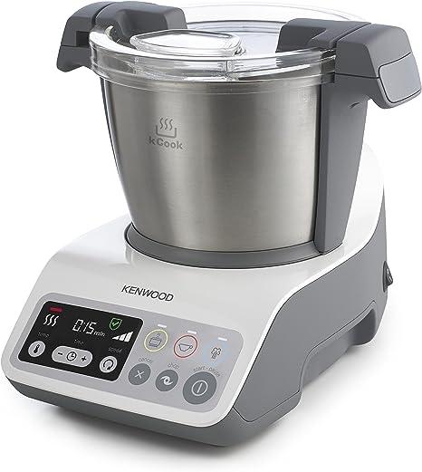 Kenwood kCook Robot de cocina, diseño compacto, hasta 4 comensales ...