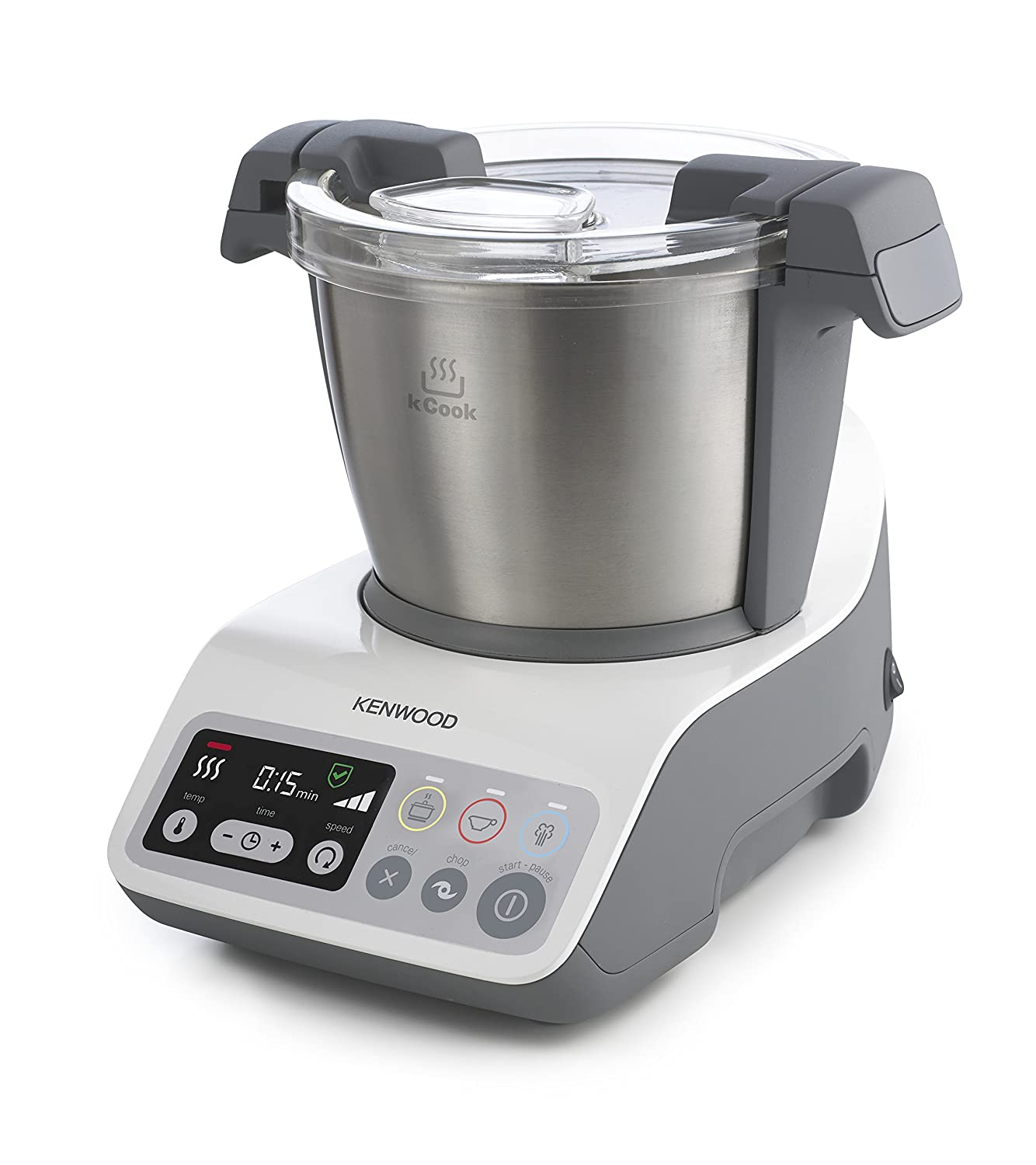 Amazon Kenwood kCook CCC200WH Kompakt Küchenmaschine mit