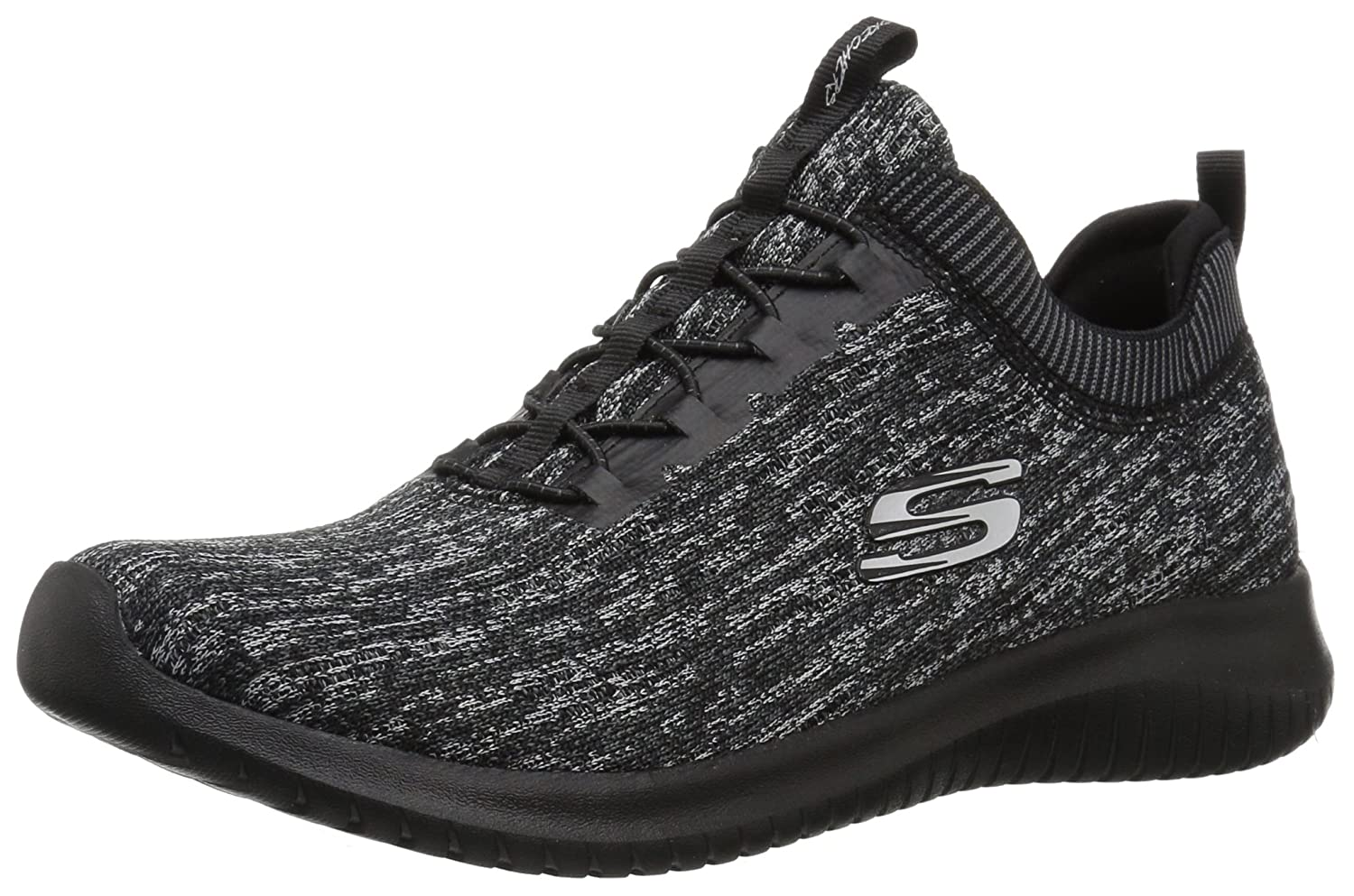 Skechers Women's Ultra Flex Bright Horizon Sneaker B01MS9T5OT 6.5 B(M) US|Black Charcoal