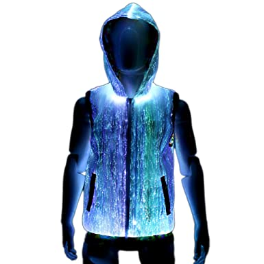 Your Mind Your World Cool Light Up Hoodie For Men Edm Festival
