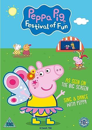 Peppa Pig Festival Of Fun Dvd 2019 Amazon Co Uk Dvd Blu Ray