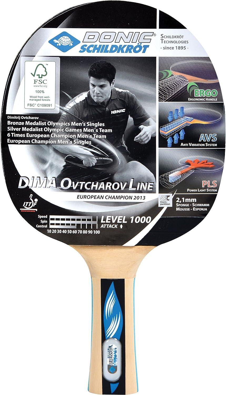 754412 Donic-Schildkr/öt Raqueta de Tenis de Mesa Ovtcharov 1000 FSC