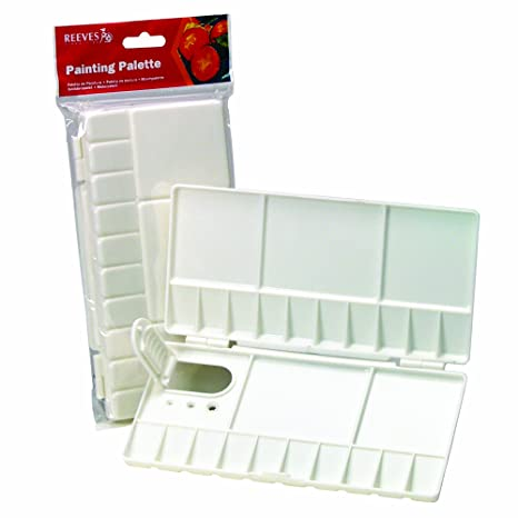 Reeves Folding Plastic Palette Small