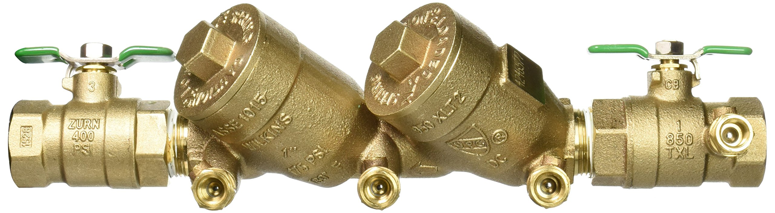 Zurn 1-950XLT2 Wilkins Double Check Valve Backflow Preventer 1'' Lead Free by Zurn (Image #5)