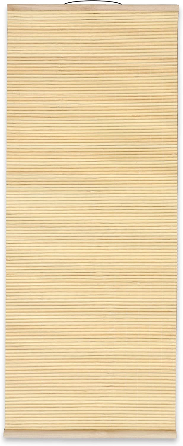 Large Blank Decorative Bamboo Wall Hanging Scroll (14 x 36 Inches)