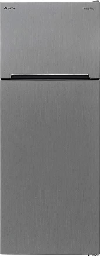 Panasonic 570 Liters Top Mount Refrigerator, Silver - NRBC572VS, 1 Year Warranty