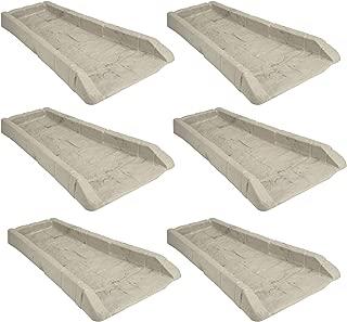 product image for Suncast SB24 Decorative Rain Gutter Downspout Garden Splash Block (6 Pack)