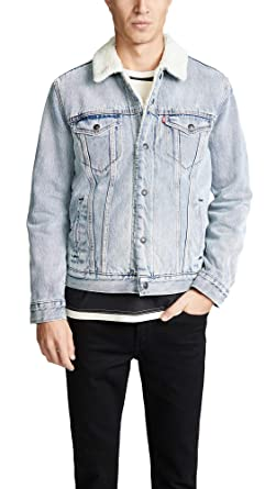 Levis Red Tab Men s Type III Sherpa Trucker Jacket at Amazon Men s ... a753c20d3d88