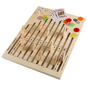 Amazon Wooden Horse Race Game Set Includes Dice Cards And New Wooden Horse Race Game