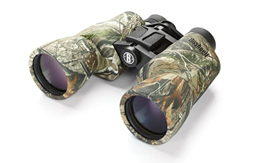 Bushnell PowerView 10 x 50mm Porro Prism Instafocus Binoculars, Realtree AP