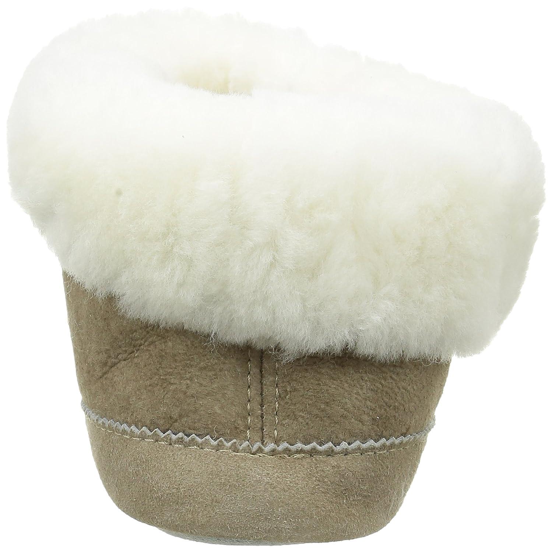 Shepherd Damen Emmy Slipper Flache Hausschuhe Beige (Stone Weiß Weiß (Stone 27) ec2485
