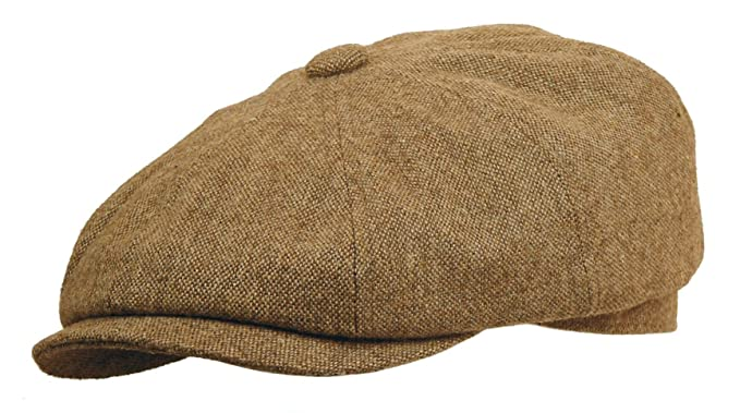 7002ed7560 Rooster Wool Tweed Newsboy Gatsby Cap Ivy Golf Hat Driving Cabbie