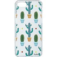 Husky Capa Personalizada para iPhone 7 Cactus Textura Roliço, Colorido