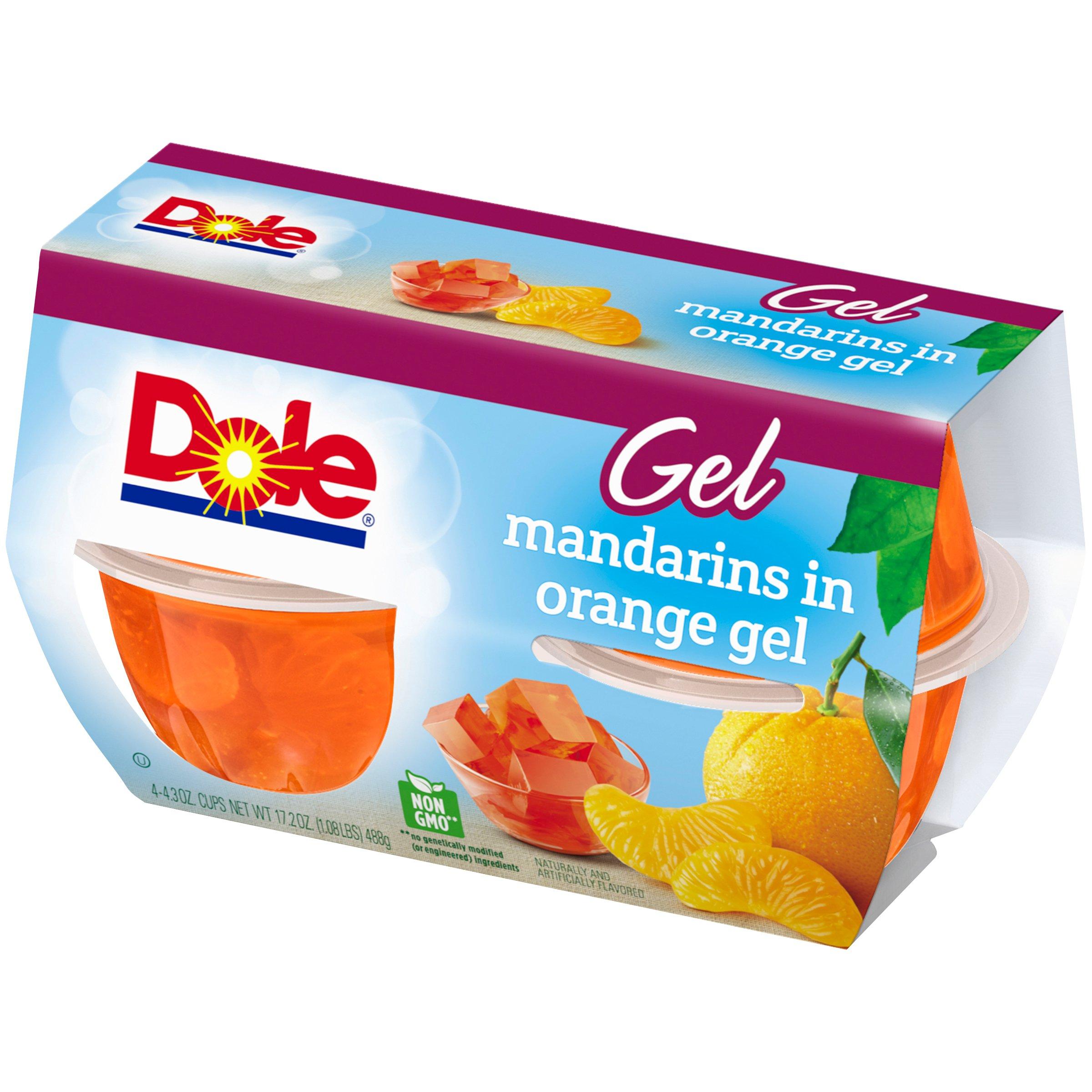 Dole Fruit Bowls, Mandarins in Orange Gel, 4 Cups by Dole Fruit (Image #7)