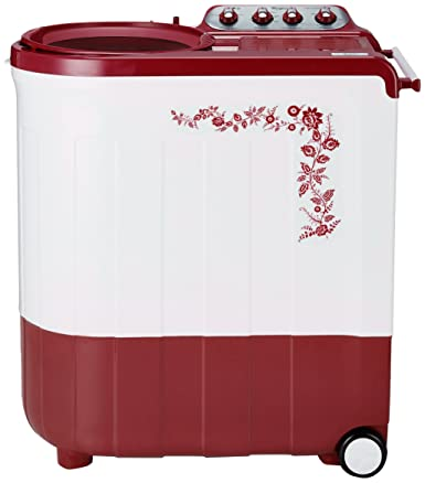Whirlpool 7.5 kg Semi-Automatic Top Loading Washing Machine (Ace Turbodry 7.5, Flora Red)