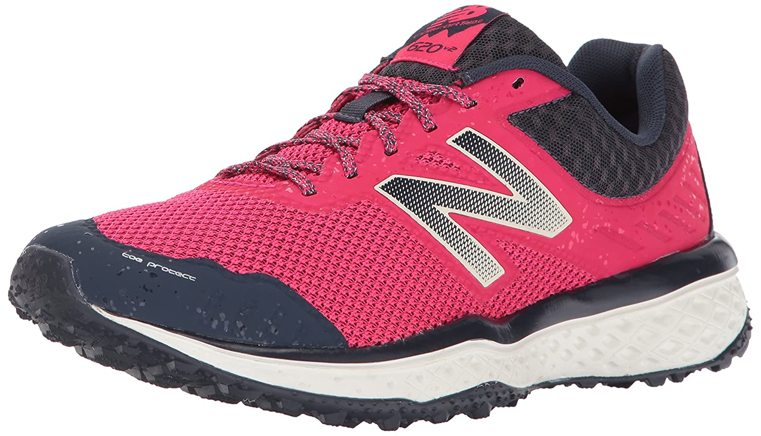 New Balance Women's Cushioning 620v2 Trail Running Shoe B01LZ9DO29 5 D US|Pomegranate/Outerspace