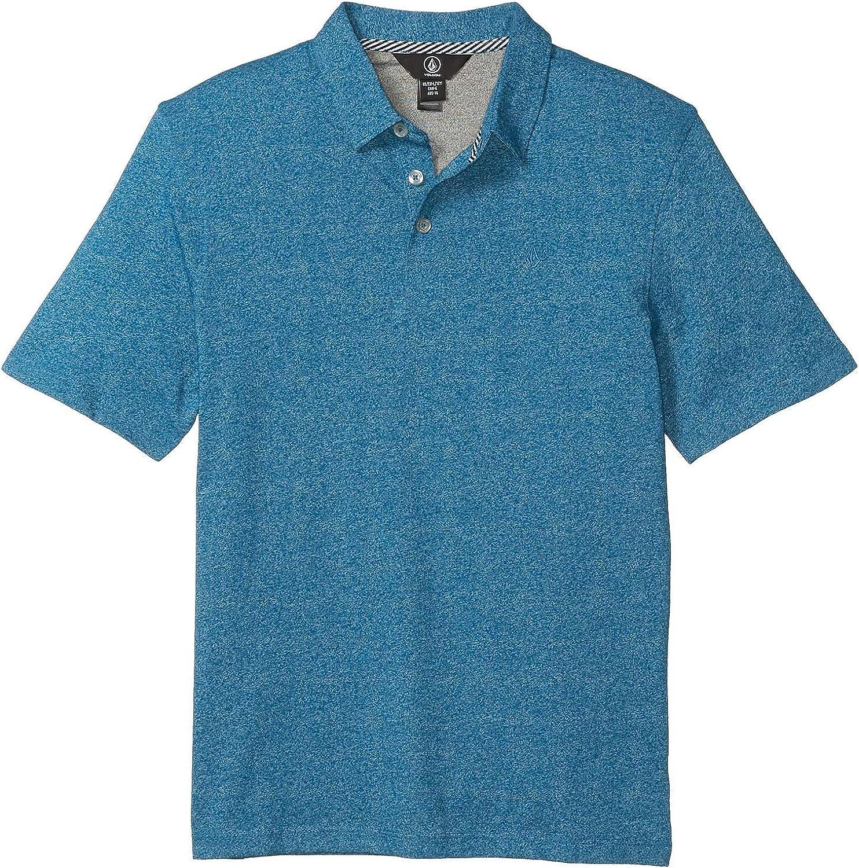 Volcom Boys Big Wowzer Modern Fit Cotton Polo