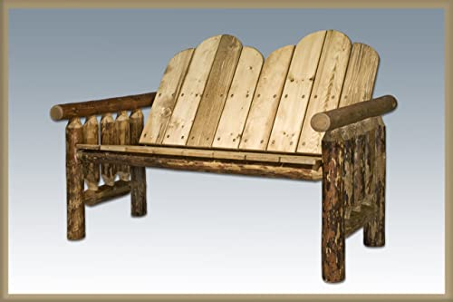 Log Furniture Outdoor Bench